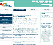 Screenshot der Homepage der BiSS-Initiative, jpg, 27.0 KB